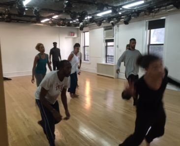 Dancing While Black Fellows in Workshop