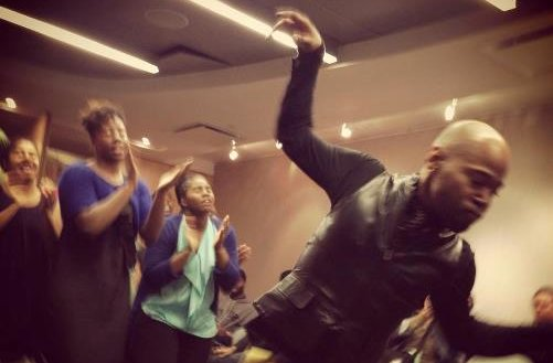 Dancing While Black: Collective(s) Action at the Hemispheric Institute of Performance and Politics. Photo: Marlène Ramírez-Cancio